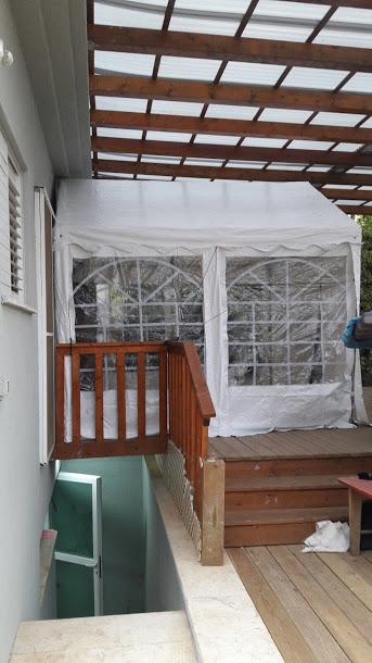 אוהל 3X3 למכירה